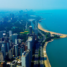 Chicago Shoreline by John Guest - Buildings & Architecture Office Buildings & Hotels ( chicago )