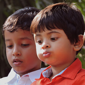 RAJ N AMIT by SANGEETA MENA  - Babies & Children Children Candids
