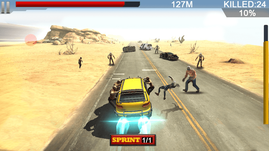 Zombie Killer- Road Reaper Android App Screenshot