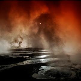 Geysers El Tatio by Stanley P. - Landscapes Travel ( travel, landscape )