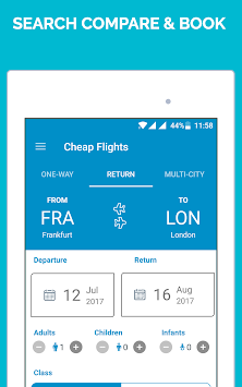 Cheap Flights By Flight Booking App APK screenshot thumbnail 11