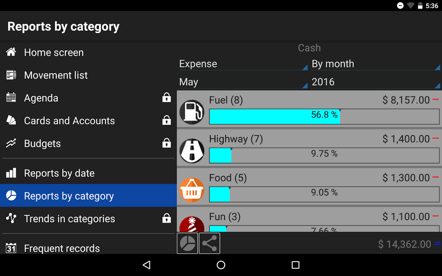 Daily Expenses 3 Screenshot 19