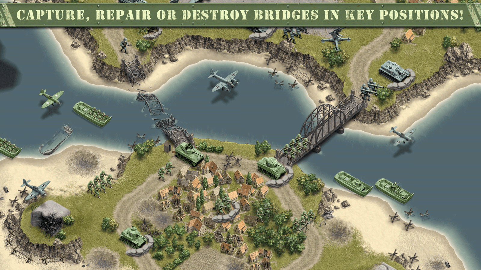 1944 Burning Bridges Premium Screenshot 8