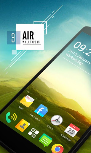 (FREE) AIR GO Launcher Theme Screenshot