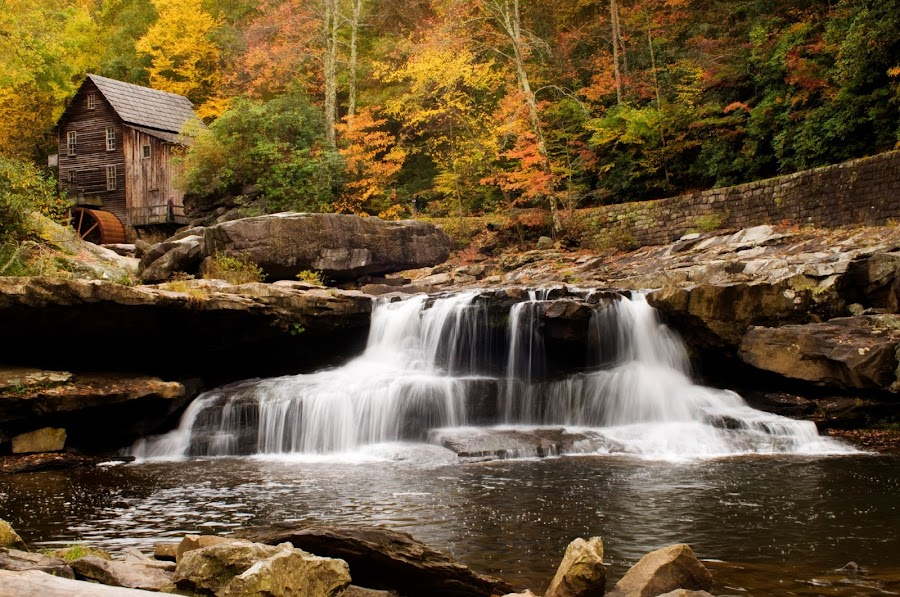 getting ready to order some 12 x 18 size prints of this Glade Creek Mill photo.Are there any of my friends who would like to order one before I place my own order? by Steven Faucette - Landscapes Mountains & Hills ( mountains, west virginia, grist mill )