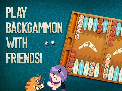 Viber Backgammon - screenshot
