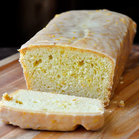Glazed Orange Pound Cake