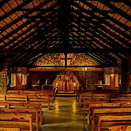 Chapel by Jacques Prinsloo - Buildings & Architecture Places of Worship ( lights, wood, church, stone, chapel, rural )