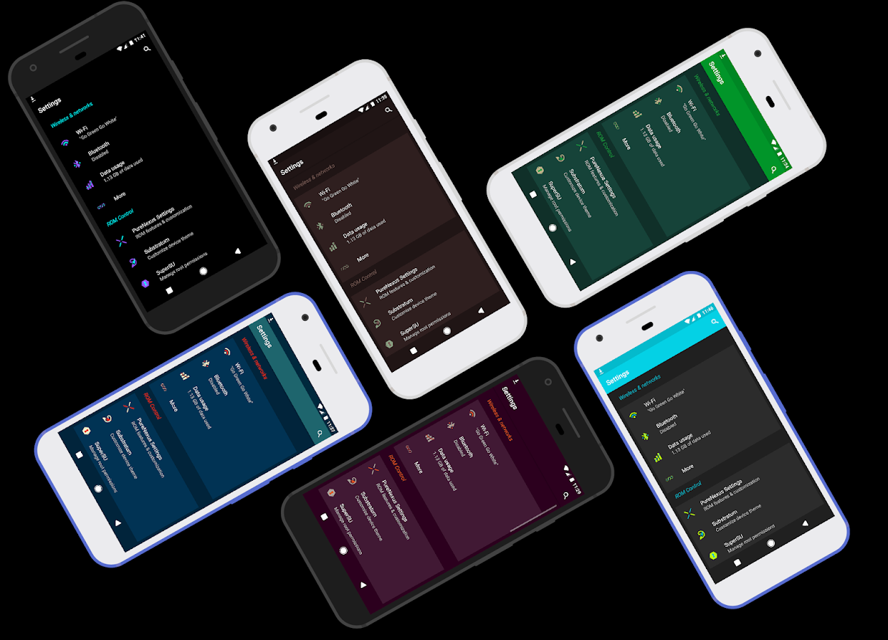 [Substratum] Spectrum Theme Screenshot 2