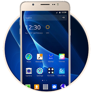 Theme for Samsung J7 Icon