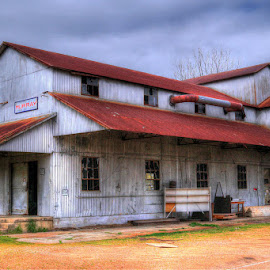 Abandoned Tennessee Cotton Gin by Joe Machuta - Buildings & Architecture Decaying & Abandoned ( cotton gin, hdr, arlington tn, abandoned industry, photography )