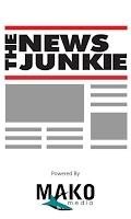Screenshot of The News Junkie