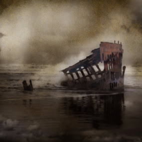 The Peter Iredale! by Shari Sperandeo-Bell - Uncategorized All Uncategorized