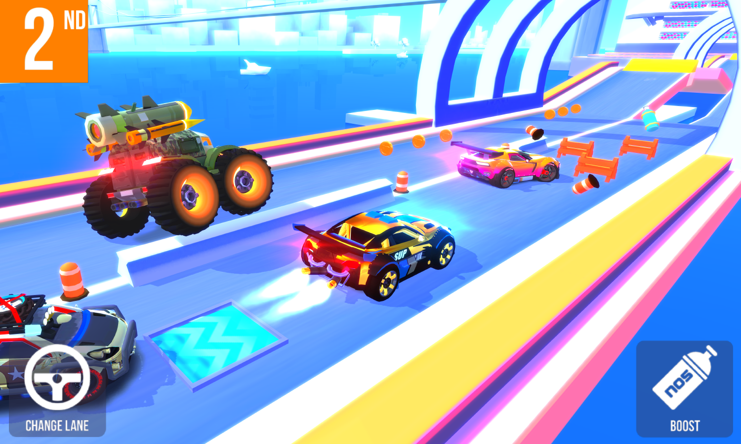 SUP Multiplayer Racing (Unreleased) Screenshot 3