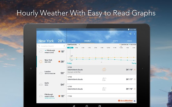 AccuWeather Platinum APK screenshot thumbnail 13