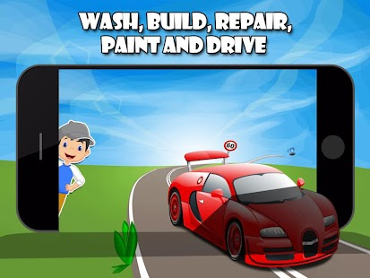 Car Salon - My First Car Wash - screenshot