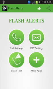 Flash Alerts - screenshot