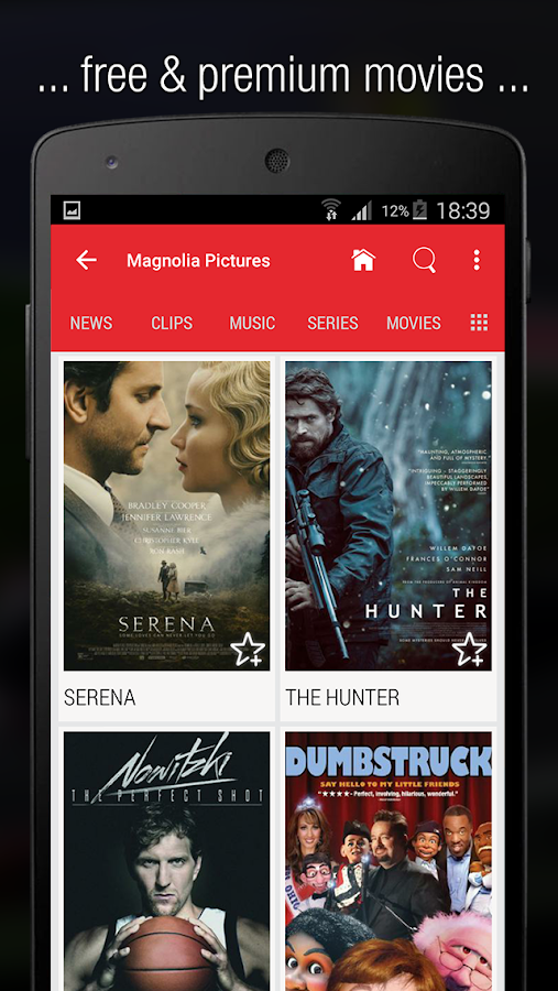 Flipps – Movies, Music & News Screenshot 2