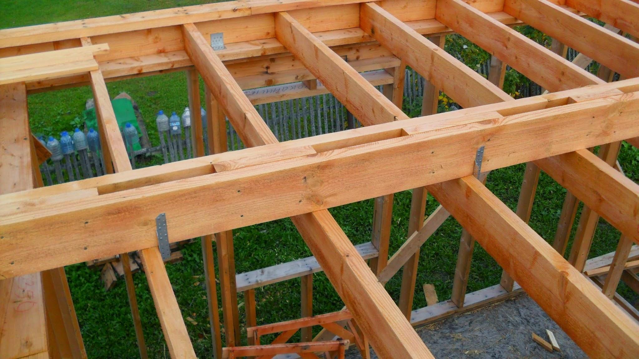 Строительство каркасного дома из дерева своими руками