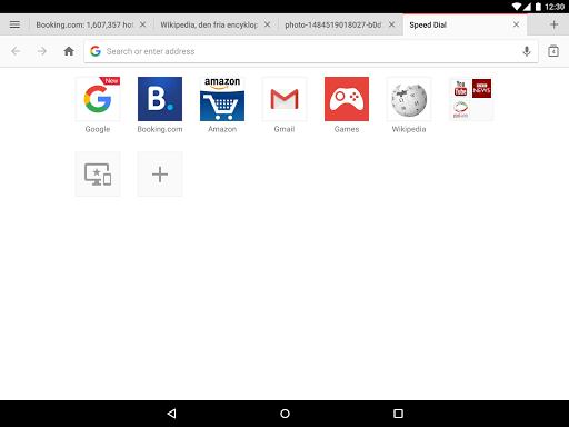 Opera browser - news & search screenshot 9