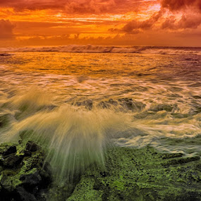 water blow by Yoga Amerta - Landscapes Waterscapes ( landscape waterscape bali picoftheday nature )
