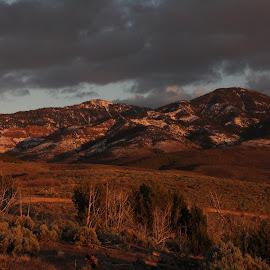 sunlight by Marlous Story Bleazard - Landscapes Sunsets & Sunrises ( clouds, mountains, snow, landscape, sunlight )