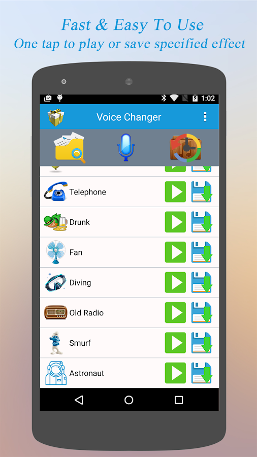 Best Voice Changer Free Android Apps On Google Play