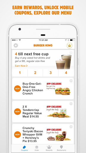BURGER KING® App - New Zealand screenshot 2