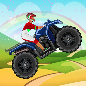 Jungle Hill Climb MotorBike