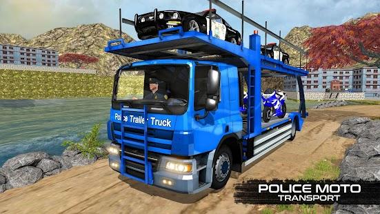 OffRoad Police Transport Truck APK for Bluestacks