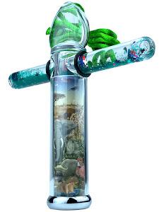 Калейдоскоп New подвеска, зеленый