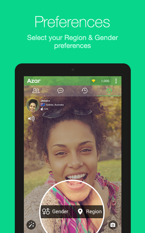 Azar-Video Chat&Call,Messenger Screenshot 11