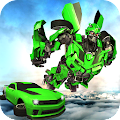 Future Flying Car Transform Robot Wars APK Descargar