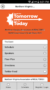 NVAR Convention & Trade Show - screenshot