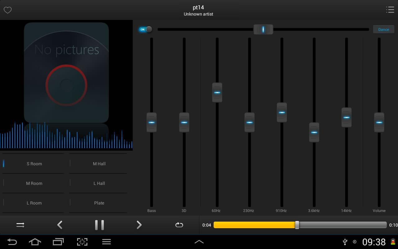 Equalizer Music Player Pro Screenshot 6