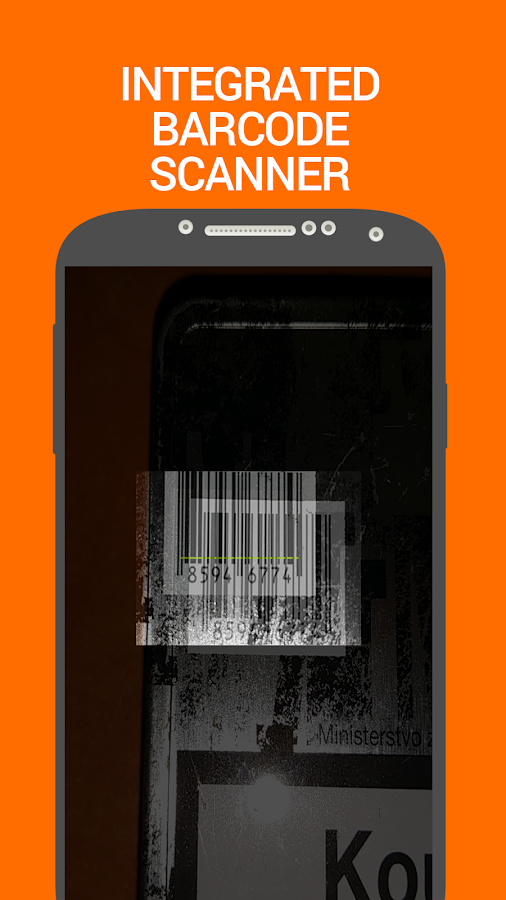 Barcode Inventory Counter Pro Screenshot 1
