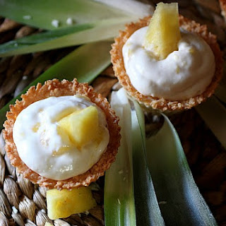 Coconut Cream Pineapple Cheesecake Recipes
