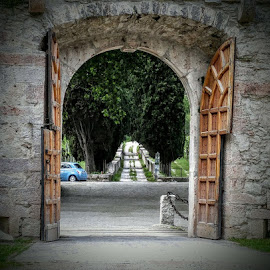 Italian Streets by Caitlin Klever - City,  Street & Park  Street Scenes