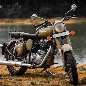 Royal Enfield by Gurucharan Shamji - Transportation Motorcycles ( bike, royal enfield, motorcycle, indian bike )