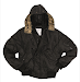 Короткая куртка Аляска N2B - Mil-TEC - чёрный