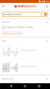 WolframAlpha for pc