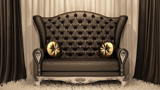 Luxury sofa. Live wallpapers - screenshot