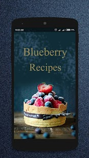 Blueberry Recipes - screenshot