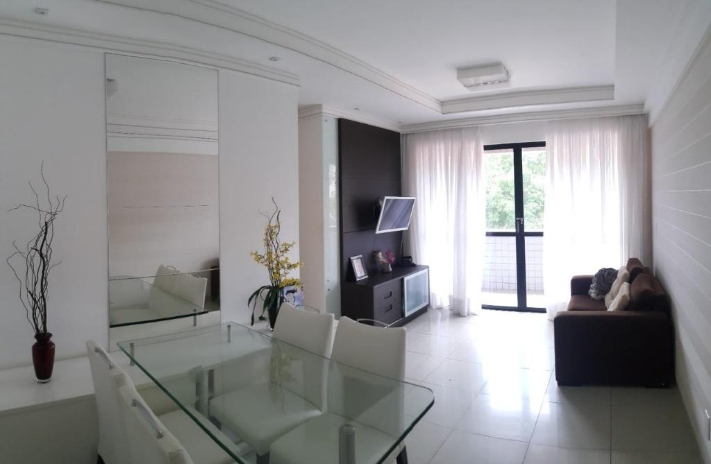 Apartamento com 2 dormitórios à venda, 75 m² por R$ 269.000 - Intermares - Cabedelo/PB