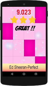 Perfect Ed Sheeran Piano Tiles APK screenshot thumbnail 2