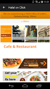 Food Delivery Singapore - screenshot