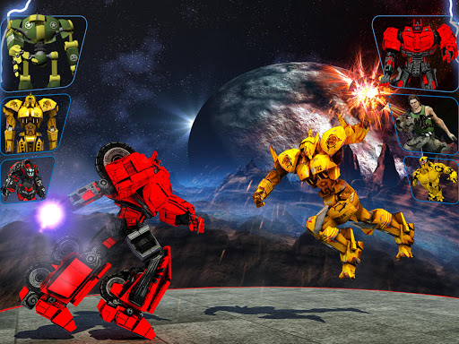 Real X-Ray Robot Fighting Game screenshot 10