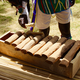 Kenyan Percussion'eer  by Charlie Marcus - Artistic Objects Musical Instruments
