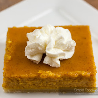 Pumpkin Pie Bars Recipes