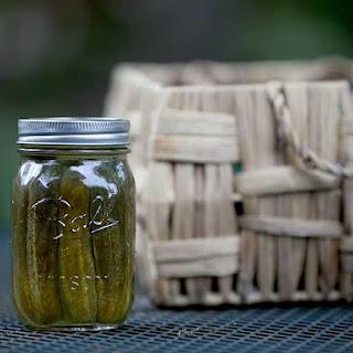 Kosher Dill Pickles Cucumbers Recipes
